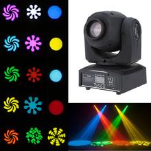 LIXADA RGBW 9/11 Kanal Professionelle Led-bühne Licht wirkung Automatische Moving Head DMX-512 AC100-240V 25 Watt PAR Bühnenlicht heißer(China (Mainland))