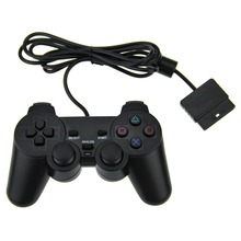 High Quality For PS2 Controller Wired Dual Vibration Joystick For PS2 Playstation 2 Controller