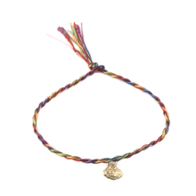 1 Pc vintage style Colored thread Bracelets/anklet for women random Color(China (Mainland))