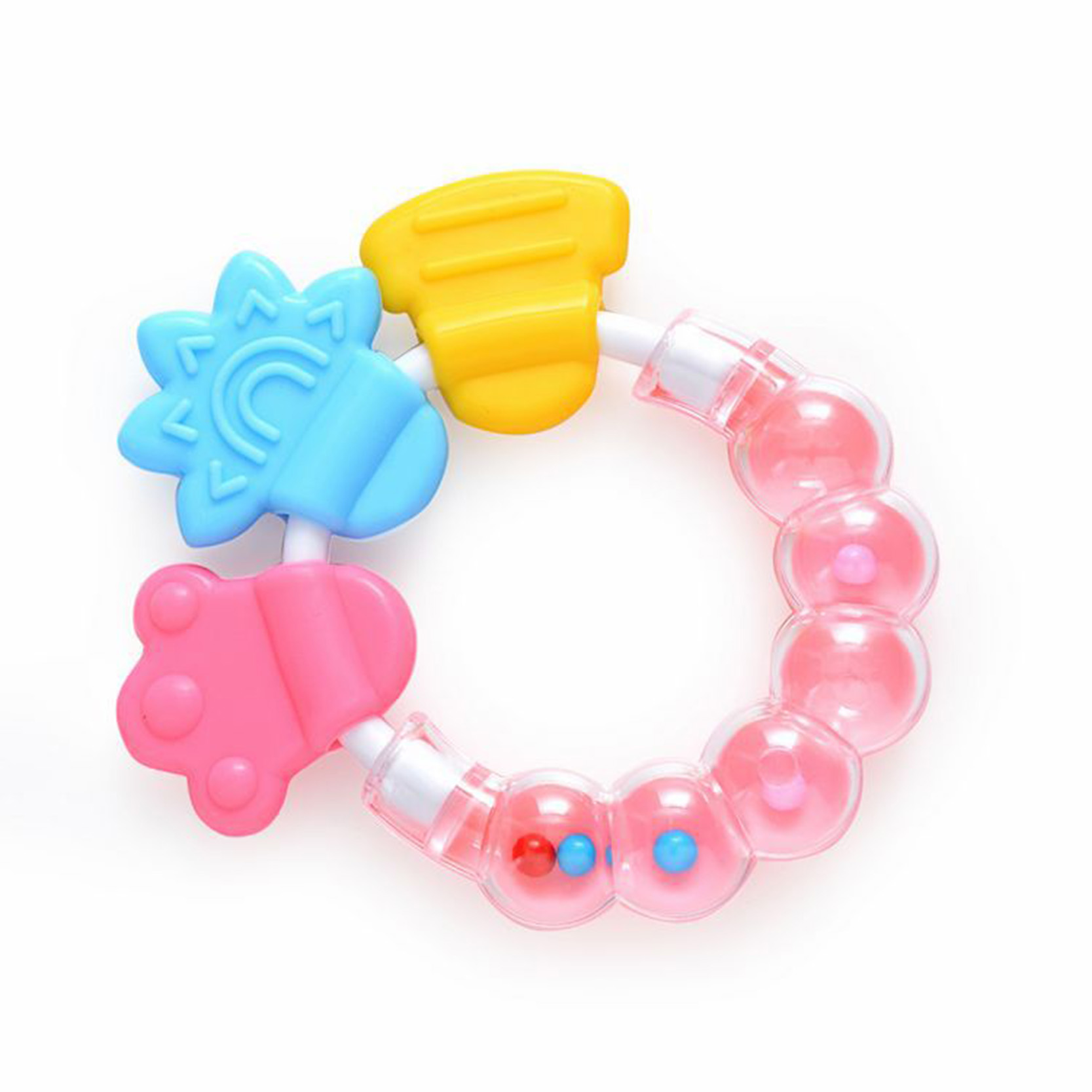 Baby Dental Care Toddler Teether Chew Toy Molar Rod Silicone