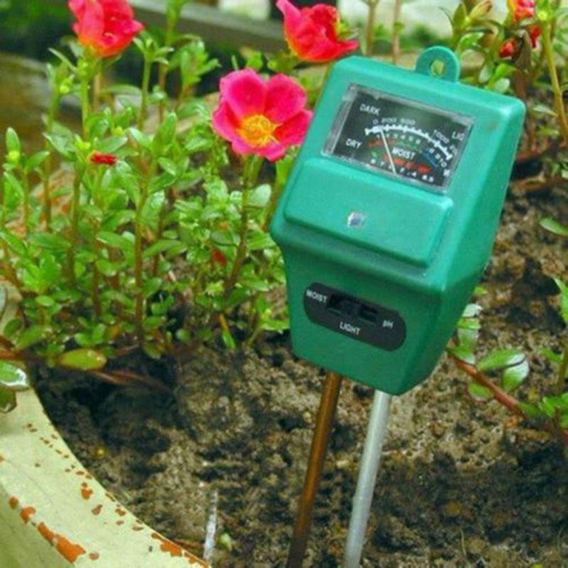 High Quality 3in1 PH Tester Soil Water Moisture Light Test Meter for Garden Plant Flower Hot(China (Mainland))