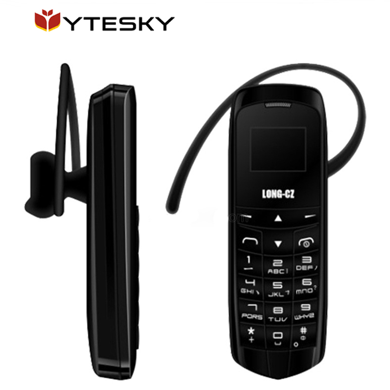 10pcs/lot Bluetooth Dialer mini mobile Phone LONG-CZ J8 0.66 inch with Hands Free Support FM Radio Micro SIM Card GSM Network(China (Mainland))