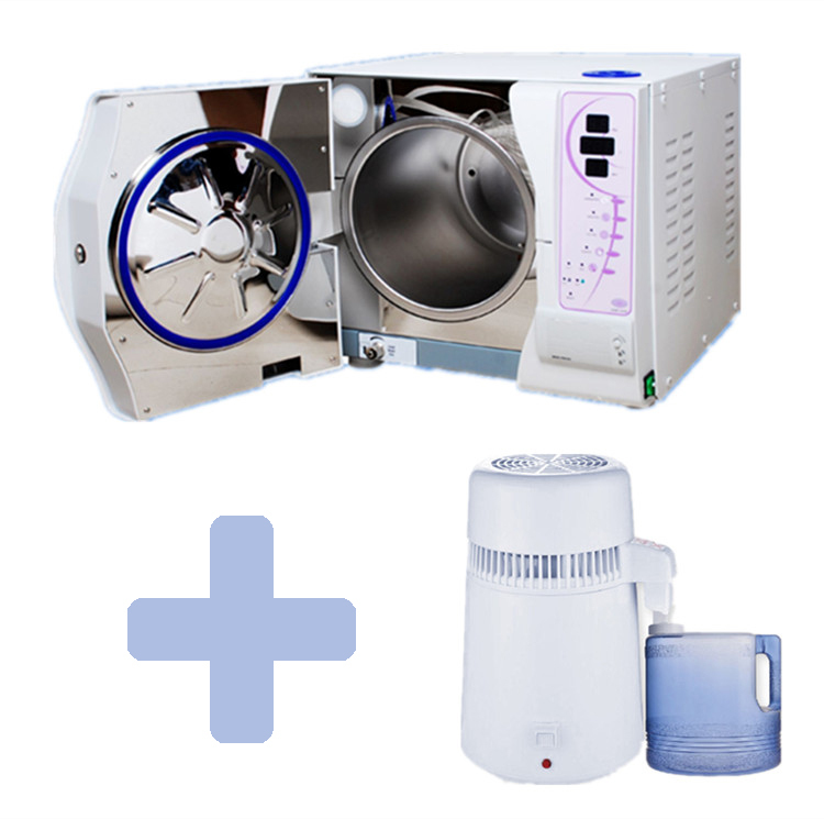 18L Vacuum l Autoclave Sterilizer and Water Distiller FREE SHIPPING(China (Mainland))