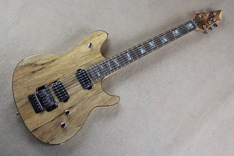 Brand new music man electric guitar in nature color with fingerboard inlay<br><br>Aliexpress