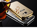 Phone Case For Samsung Galaxy J1 J1 Ace Case Luxury Aluminum Frame Mirror Acrylic Back Cover
