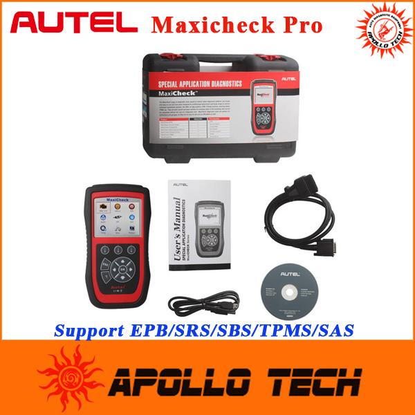 2015 New Arrival Original Autel MaxiCheck Pro ( EPB/ABS/SRS/SAS/TPMS/DPF/Oil Service) Auto Special Application Diagnostic Tool(China (Mainland))