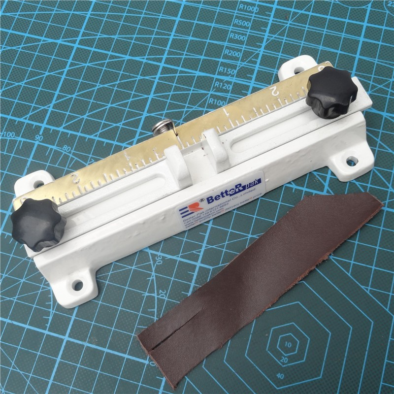 Buy 808 Leather splitter knife,leather paring device kit,leather skiver,belt cutting machine(structure in full brass) cheap