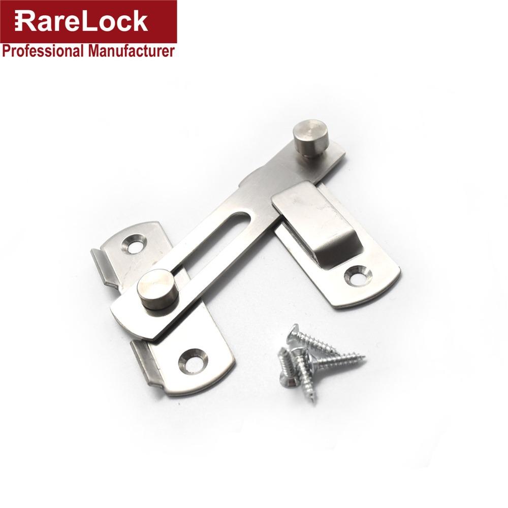 Rarelock High Quality Hasp Latch Lock Sliding Door Simple Convenience Window Cabinet Locks Cerradura(China (Mainland))