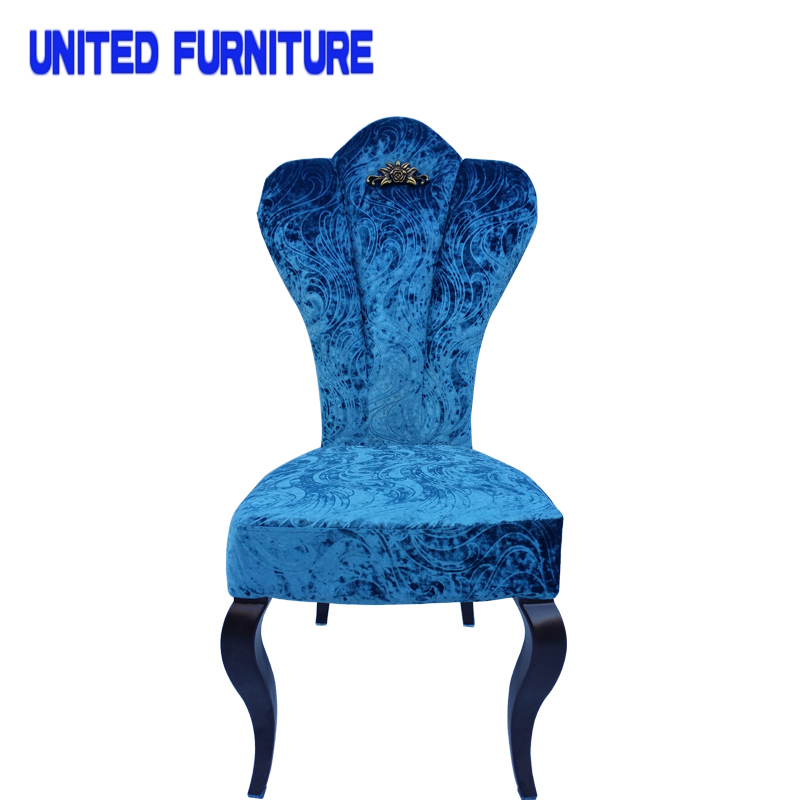 2016 New design wholesale cheap modern indian metal frame dining chair(China (Mainland))