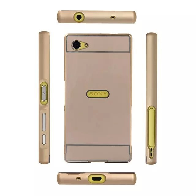 aluminum frame phone case for Sony Xperia compact (2)