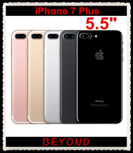"Buy Original Apple iPhone 7 Plus Factory Unlocked Mobile Phone 4G LTE 5.5"" Quad Core A10 Dual 12MP RAM 3GB ROM 32GB/128GB/256GB for $967.00 in AliExpress store"