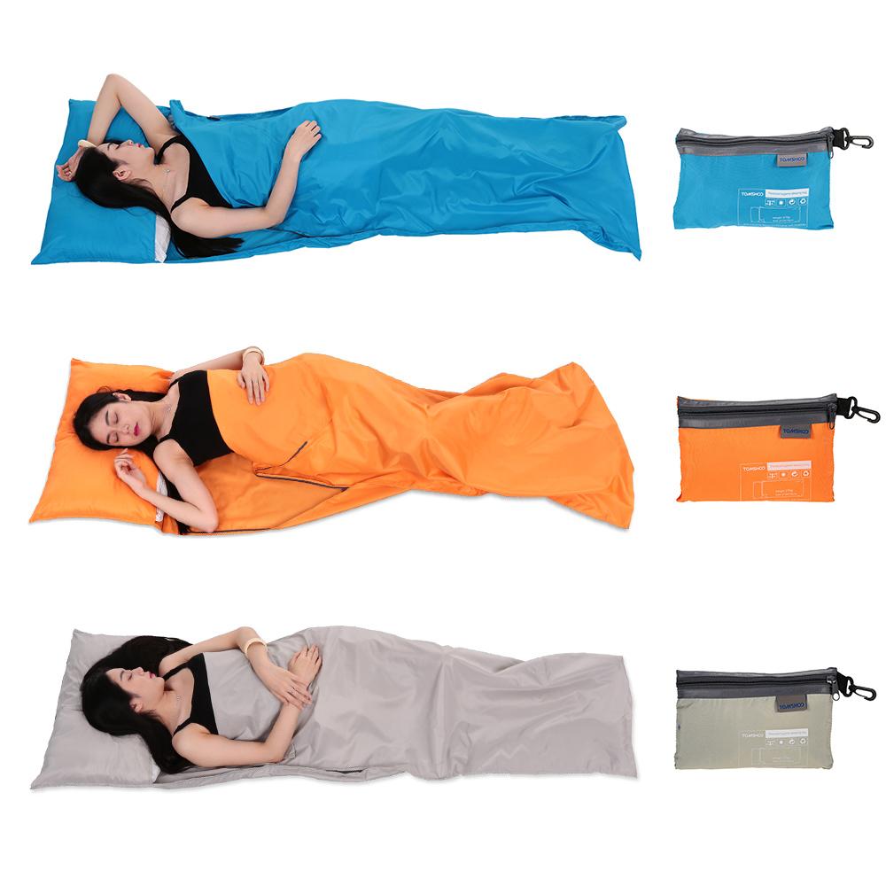 Lightweight Outdoor Sleeping Bag Liner Polyester Pongee Portable Single Sleeping Bags Camping Travel Sleep Bag 75*210CM(China (Mainland))