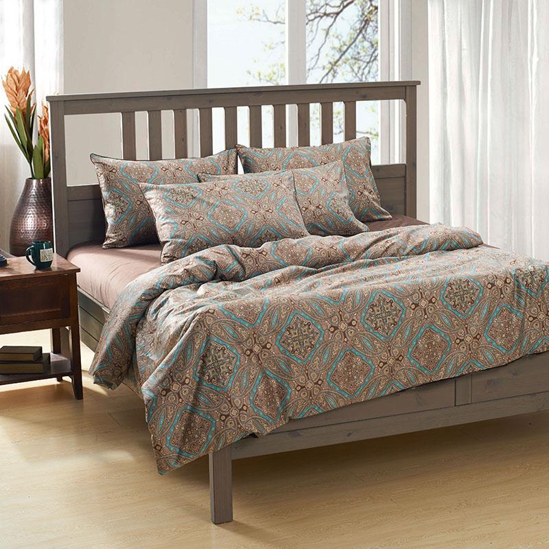 Compra muebles de cama de matrimonio online al por mayor - Fundas nordicas marrones ...