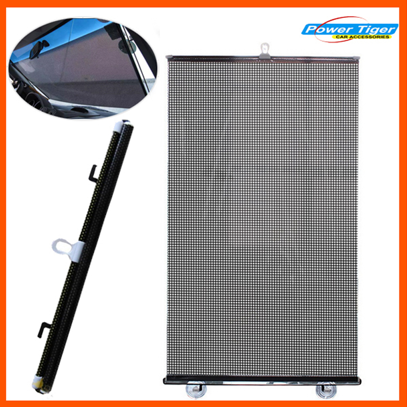 50*125cm Solar film Auto Car Sun Shade Front and Rear Side Window Sun Screen Curtain Solar Protections - Black(China (Mainland))