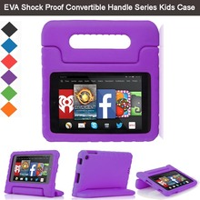 "EVA Shockproof Light Weight Kids Case Super Protection Cover Handle Stand Case For Amazon Fire HD 6 2015 6"" Kindle Tablet"