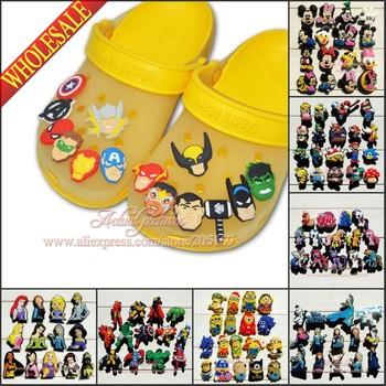 Free Shipping ,(13PCS-18PCS) /Set PVC Shoe Charms Buckles Decoration/ Shoe Accessories Ornaments Hot Sale Items