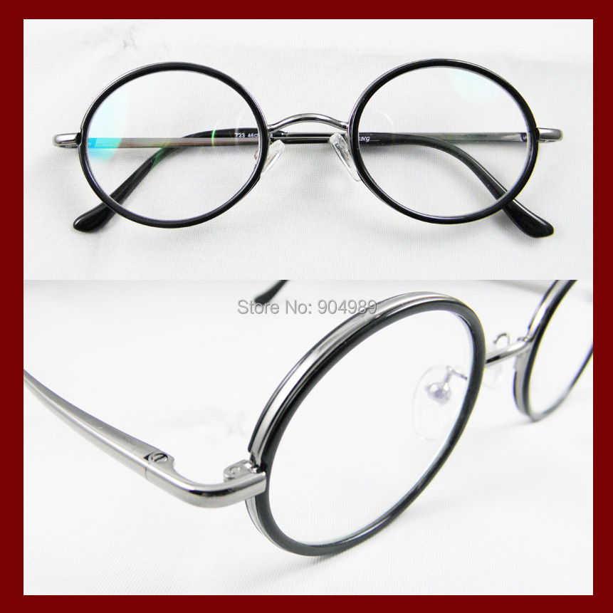 Mens Reading Glasses Round Frames : Men women Reading glasses Vintage Almost round style 46mm ...