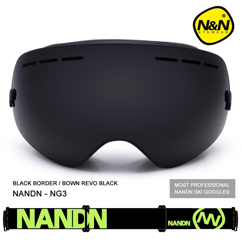Rush NANDN Exchengeable Lens Big Spherical Men Women Snowboard Sports Ski Goggles Double Lens Anti-fog Professional Ski Glasses<br><br>Aliexpress