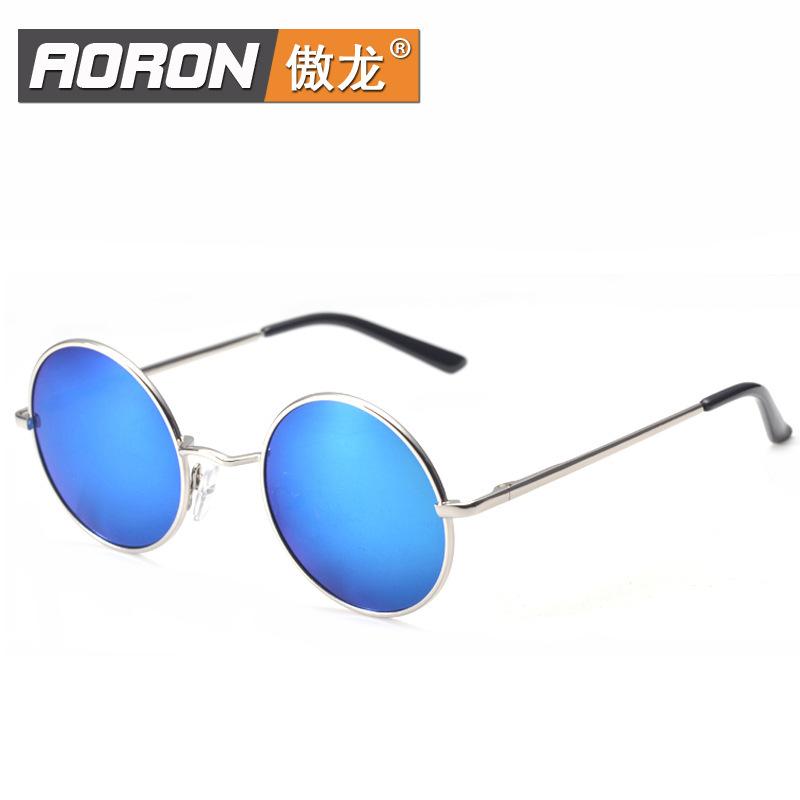 eyeglass lense new Prince mirror polarized sunglasses authentic dark glasses round Anti-UV grade 400 Model 849-2 - LED Demo Case factory store