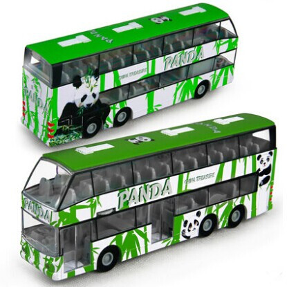 kids toys vehicle educational pull back open doors alloy model car metal toys vehicles scale diecast bus model toys music light(China (Mainland))