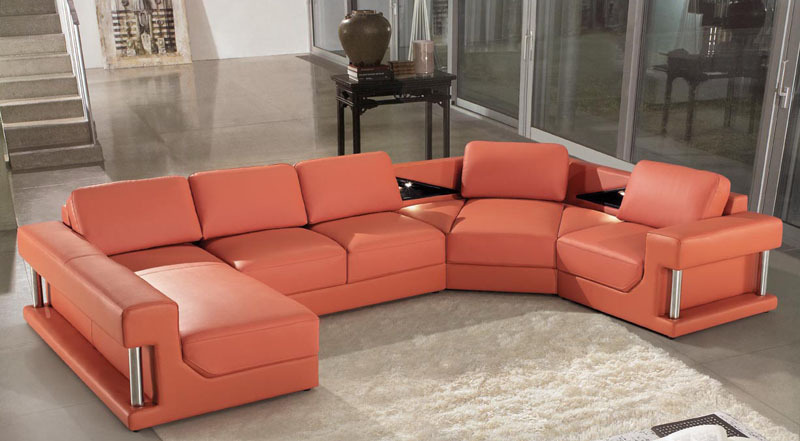 Top Genuine Leather sofa modern(China (Mainland))