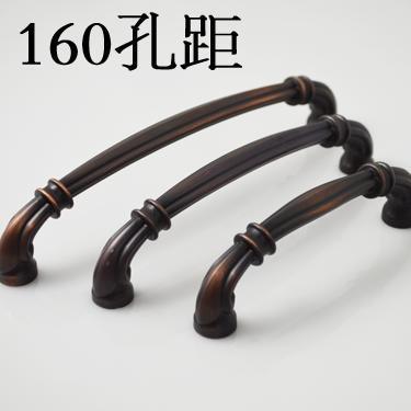 10pcs lot free shipping American type zinc drawer cabinet wardrobe antique furniture handle 86317-160VB<br><br>Aliexpress