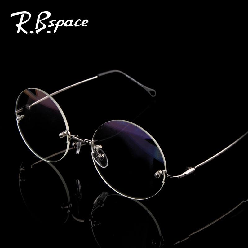 Aliexpress.com Comprar RBspace 2015 Mujeres Masculinas caja redonda de moda las gafas de sol de la vendimia gafas de sol sin montura gafas anti