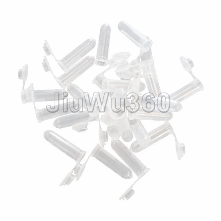 100pcs 2mL Plastic Vial Tube Sample Storage Container Fragrance Beads Liquid(China (Mainland))