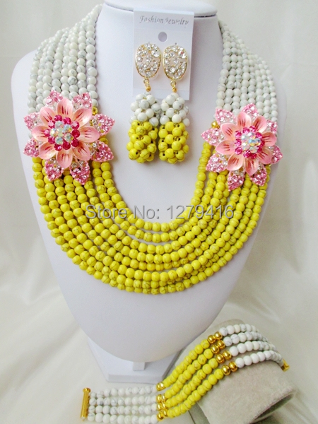 The classical fashion Nigeria, European and American style, Wedding Jewelry Necklace Set T-119<br><br>Aliexpress