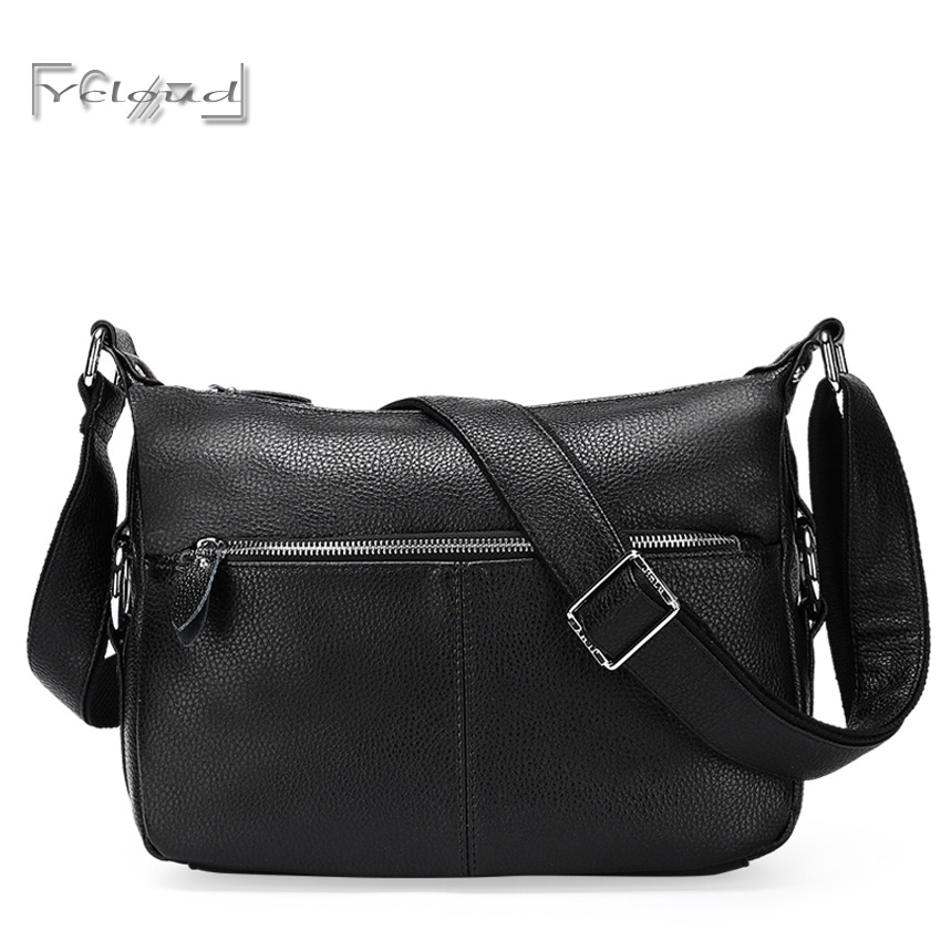 Sell well Casual retro fashion handbags bolsos carteras mujer marca black Shoulder Messenger Bag women leather bags 2016 New <br><br>Aliexpress