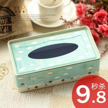 Medium size multicolour scrub decoration sheet iron Tissue Boxes  2pcs/lot mix free shipping(China (Mainland))