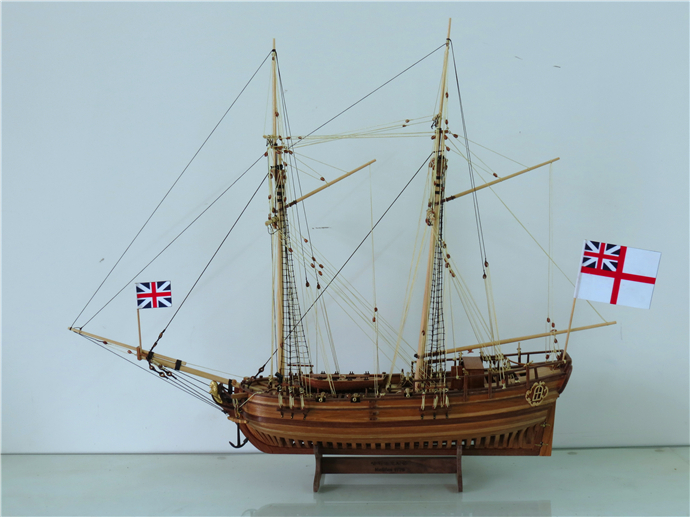 ZHL-wooden-model-ship-kit-H-M-S-Halifax-