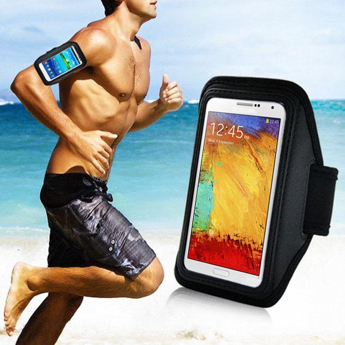 2015 Hot Sale Sport Gym Running Arm Band Phone Case For Samsung Galaxy Note 3 2 N9000 N7100 Sannysis(China (Mainland))