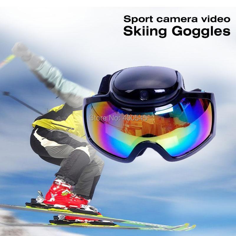 Mini HD 720P Sport Camera Video Skiing Goggles Camcorder Snow Ski Glasses camera DV DVR Recorder AVI - USBONLINEDIRECT Communication Co., Ltd. store