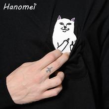 Harajuku Spoof Cat Cute Hoodies Ladies Pocket Sudaderas Mujer 2016 O-neck Moletom Feminino Long Sleeve Women Sweatshirt T95(China (Mainland))