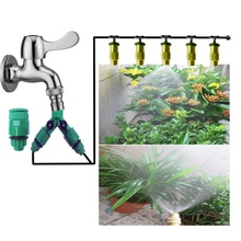 Hot 10m Family Garden Villa Vegetable Terrace Lawn Automatic Watering Drip Irrigation Watering System Spray Roof Of The Vintage(China (Mainland))
