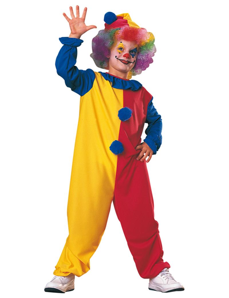Как сделать костюм клоуна