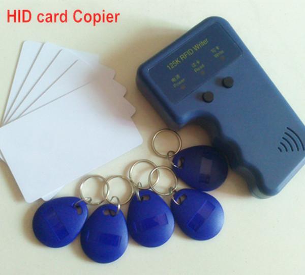 Handheld 125Khz RFID Honeywell proximity card Copier portable Duplicator Cloner H ID reader & writer + 1 cards tags - Camel Technology Co., Ltd. store