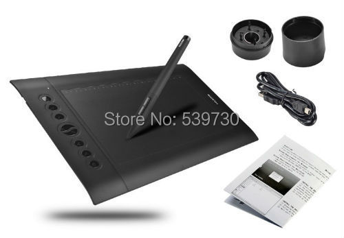 Fast Free Shipping!!! Huion H610 Pro 5080 LPI Resolution 2048 Levels Art Graphics Drawing tablet With Best Gift(China (Mainland))