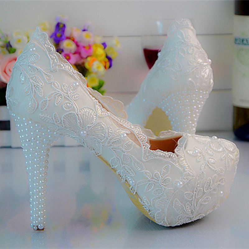 list cheap wedding shoes begin sweet lace