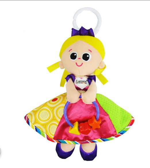 Baby Doll Toys 0-12 months Children Teether Cartoon Musical Animal Educational Mobile Brinquedos Bed Stroller Rattle Hand Bell(China (Mainland))