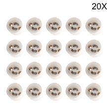 20x LED Strip Connector GU10 Socket For Halogen Ceramic Light Bulb Lamps Holder Base Wire Jack(China (Mainland))