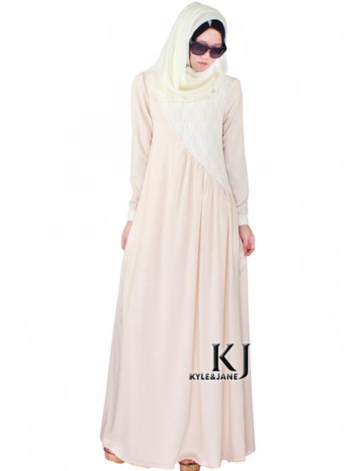 turkish fabric kaftan abaya Garbled + lace malaysia dress and turkish islamic clothing pakistan traditional clothing 20150820(China (Mainland))