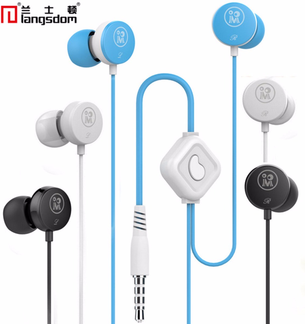 3 Color 3.5mm Stereo In-Ear Earphones Headset Earplug With Mic for Mobile iphone 4S 5 5S 6 Samsung HTC iPad M158(China (Mainland))
