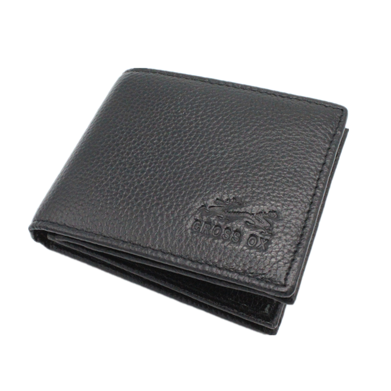 Genuine Leather Men's Wallets Head Cowhide Purse Bifold Big Capacity Thick Real Skin Wallet Zipper Pocket With Card Holder(China (Mainland))