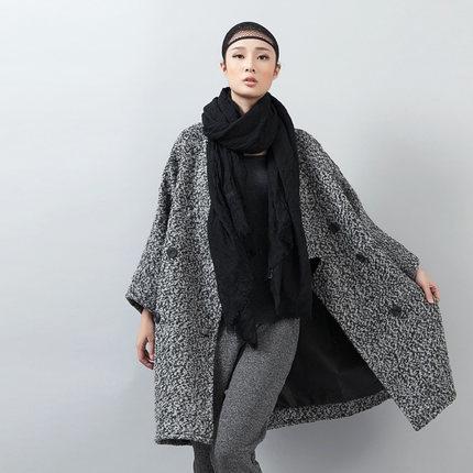 Женщин зимние пальто и куртки высокого качества двубортный шерсти пальто новый зимний длинный участок плюс Размер толстые кашемир пальто DM704