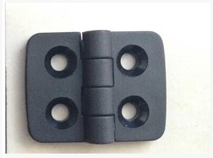 10PCS/set ABS the nylon plastic hinge 40 * 30 black plastic hinge hinges large spot free shipping(China (Mainland))