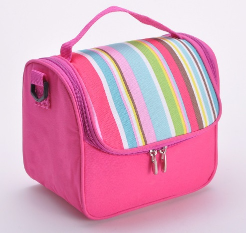 girls women 39 s cute lunch bags lancheira kids sweet pink thermal cooler bag lunchbox top quality. Black Bedroom Furniture Sets. Home Design Ideas