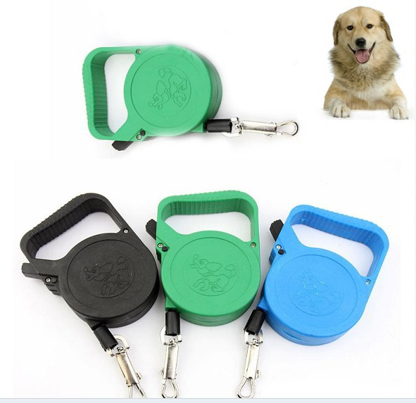 Portable Automatic Retractable Pet Dog Traction Control Collars & Leads For Small Pet Low Price Dog Traction Tool(China (Mainland))