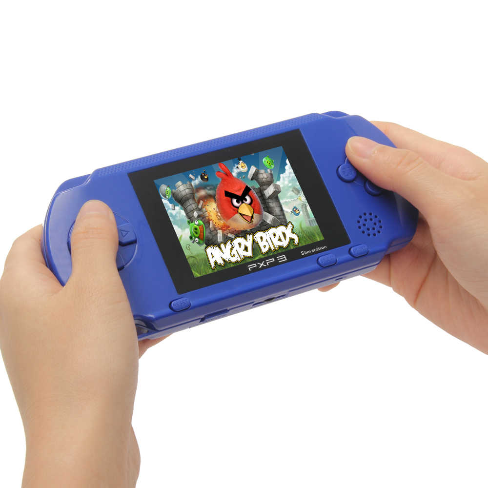 New Hot 2.7Inch Ultra-Thin Portable Video Game Player Handheld Game 1G Built In Games 16 Bit Digital Pocket System Free Shipping(China (Mainland))